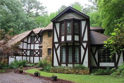 Chesapeake Single Family Home New Listing: 324 Woodards Ford Rd