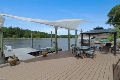 Suffolk Single Family Home For Sale: 1317 River Rd