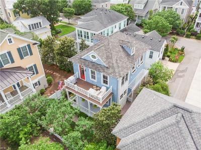 Norfolk Single Family Home New Listing: 9648 25th Bay St