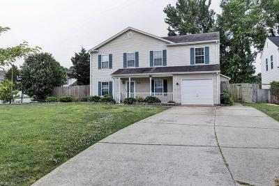 Newport News Single Family Home For Sale: 323 Peach Tree Cres