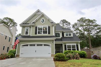 Virginia Beach Single Family Home New Listing: 2126 Bayberry St