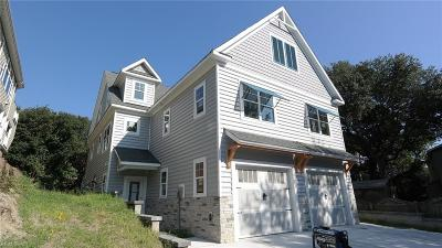 Virginia Beach Single Family Home New Listing: 2257 Woodlawn Ave #B