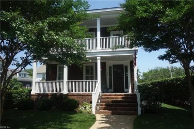Virginia Beach Single Family Home New Listing: 201 44th St