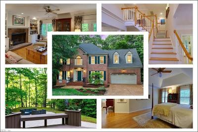 Newport News Single Family Home For Sale: 331 Dunnavant Ln