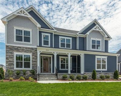 Chesapeake Single Family Home New Listing: 103 Emilee Ct
