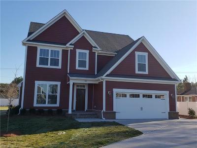 Chesapeake Single Family Home New Listing: 1216 Rosemarie Way
