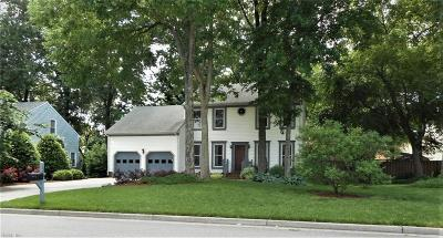 Chesapeake Single Family Home New Listing: 1520 Birch Leaf Rd