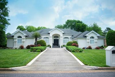 Virginia Beach Single Family Home New Listing: 4008 Timber Ridge Dr
