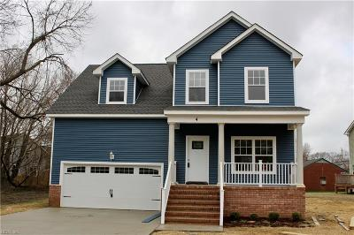 Hampton Single Family Home New Listing: 306 Creek Ave