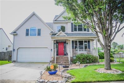Chesapeake Single Family Home New Listing: 2141 Seastone Trce