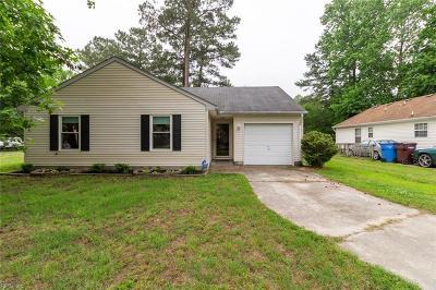 Chesapeake Single Family Home New Listing: 5029 Pearl St