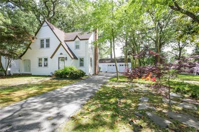 Norfolk Single Family Home New Listing: 193 W Bay Ave