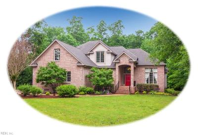 Williamsburg Single Family Home New Listing: 225 Charter House Ln