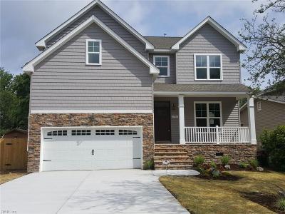 Virginia Beach Single Family Home New Listing: 2710 Shore Dr