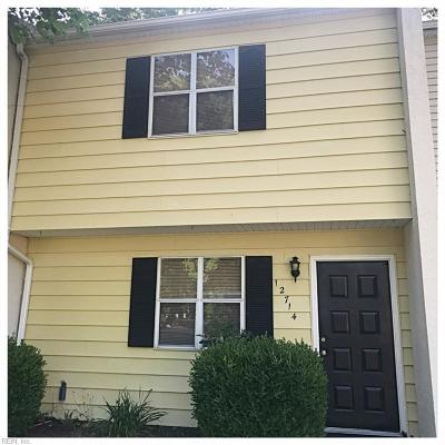 Newport News Single Family Home New Listing: 12714 Woodside Ln