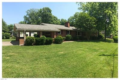 Newport News Single Family Home New Listing: 1 Elowro Dr