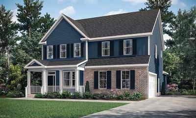 Chesapeake Single Family Home New Listing: Mm Engle At Fieldstone