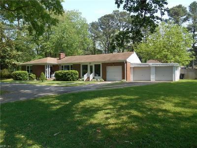 Virginia Beach VA Single Family Home New Listing: $334,900