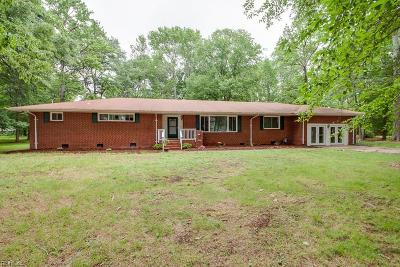 Chesapeake Single Family Home New Listing: 2606 Cecilia Ter