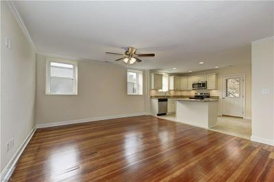 Norfolk Single Family Home New Listing: 1915 Colonial Ave #2