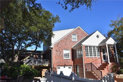 Virginia Beach Single Family Home New Listing: 4600 Myrtle Ave