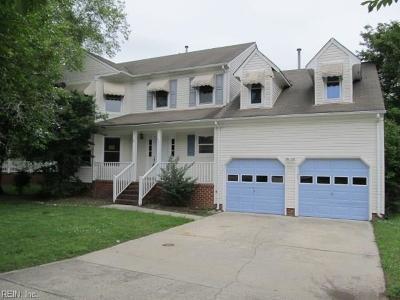 Chesapeake Single Family Home New Listing: 421 School House Rd