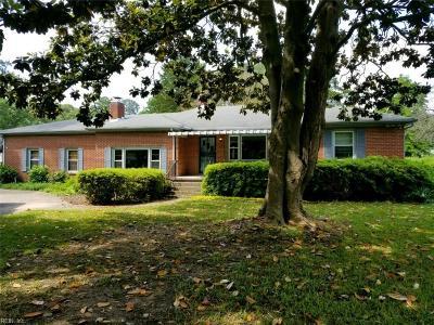 Norfolk Single Family Home New Listing: 3516 Heutte Dr
