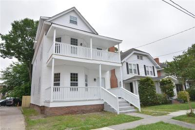 Norfolk Single Family Home New Listing: 113 W 39th St