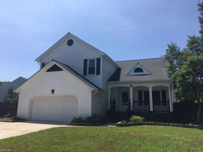 Chesapeake Single Family Home New Listing: 616 Dusty Rd