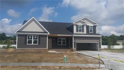 Chesapeake Single Family Home New Listing: 1224 Rosemarie Way