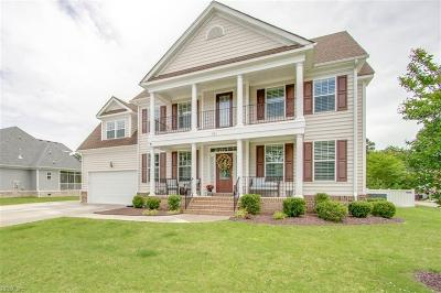 Chesapeake Single Family Home New Listing: 921 Justinlee Way