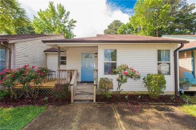 Virginia Beach VA Single Family Home New Listing: $259,000