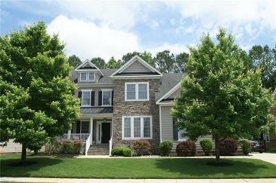 Chesapeake Single Family Home New Listing: 313 Conservation Xing