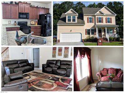 Chesapeake Single Family Home New Listing: 721 Creekwood Dr