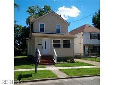 Norfolk Residential For Sale: 3322 Lens Ave