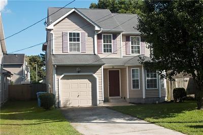 Chesapeake Single Family Home New Listing: 114 Hinton Ave