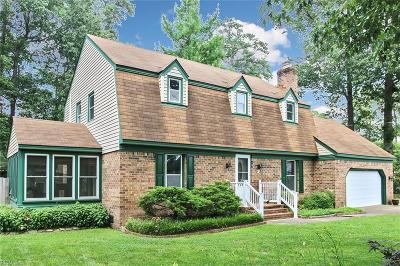 Chesapeake Single Family Home New Listing: 308 Randy Ct