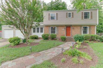 Virginia Beach VA Single Family Home New Listing: $279,900