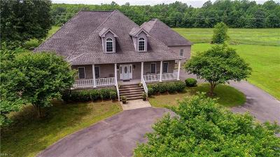 Chesapeake Single Family Home For Sale: 3144 Eason Rd
