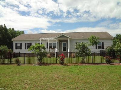 Suffolk Single Family Home New Listing: 5538 Mineral Spring Rd