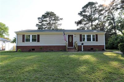 Newport News Single Family Home New Listing: 223 Picard Dr