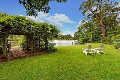 Virginia Beach Single Family Home New Listing: 924 General Stuart Dr