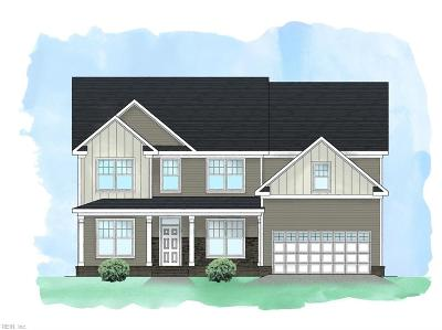 Chesapeake Single Family Home New Listing: Lot 3 Drum Creek Farms
