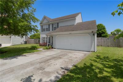 Suffolk Single Family Home New Listing: 3607 Corral Cv