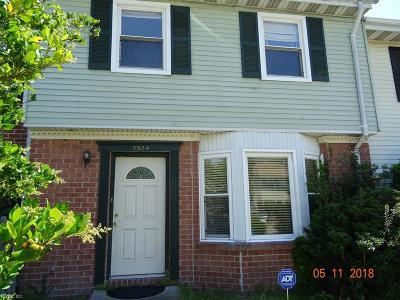 Virginia Beach VA Single Family Home New Listing: $102,250