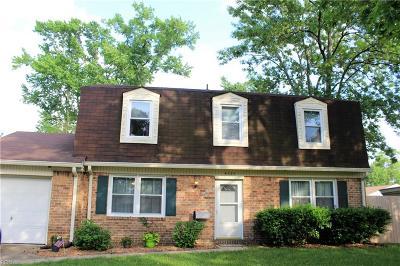 Virginia Beach VA Single Family Home New Listing: $234,900
