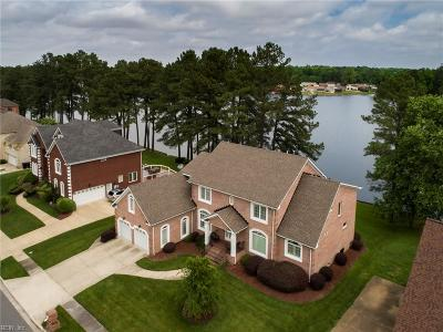 Portsmouth Single Family Home Under Contract: 1560 Crystal Lake Dr