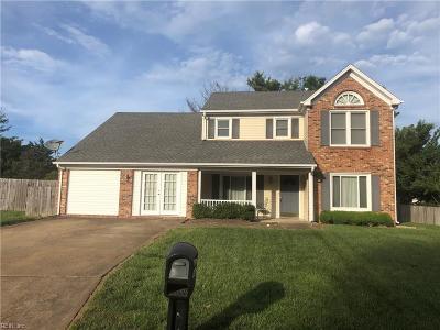Virginia Beach VA Single Family Home New Listing: $350,000