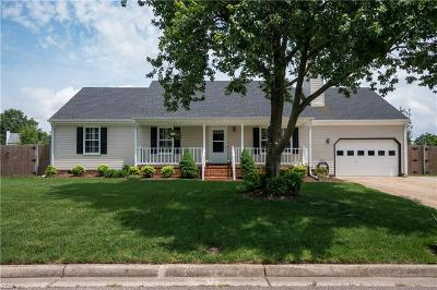 Chesapeake Single Family Home New Listing: 817 Union Forge Ln