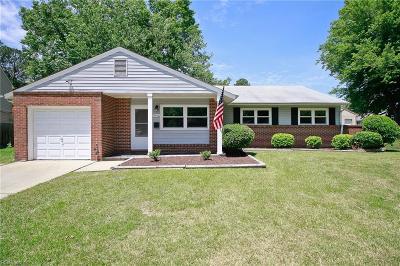 Hampton Single Family Home New Listing: 3416 Hardee Ct